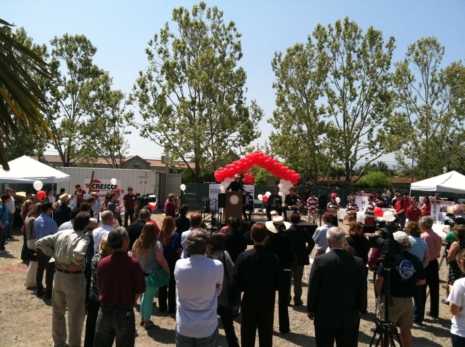 Radiant House Ground Breaking Ceremony